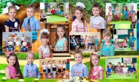 Детский выпускной фотоальбом